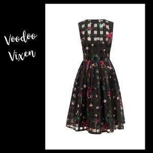 VooDoo Vixen Vintage Inspired Dress